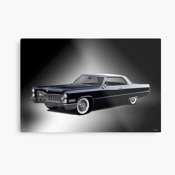 1966 Cadillac Coupe DeVille 'Studio' Metal Print