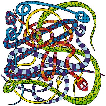 Snakes knot by laureH