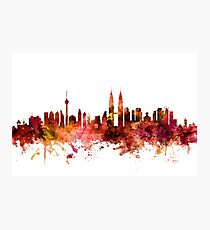 Kuala Lumpur Malaysia Skyline Photographic Print