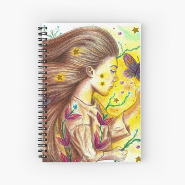 Dream Child Spiral Notebook