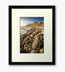 Rocks Away Framed Print