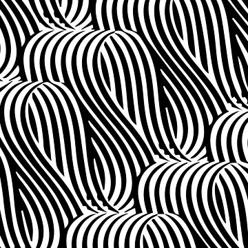 Optical illusion geometric pattern by adelemawhinney