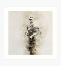 Light Infantry Art Print