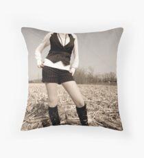 Francesca Rail 1 Throw Pillow