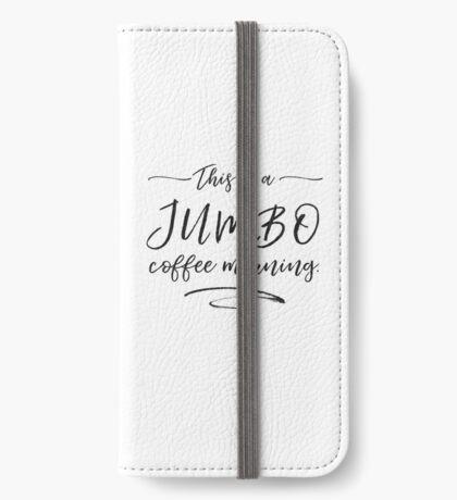 JUMBO coffee iPhone Wallet