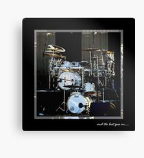 and the beat goes on.... Canvas Print