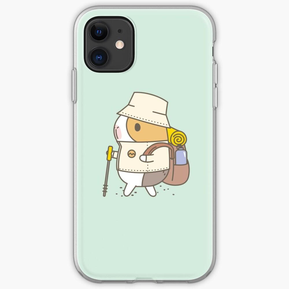 Bubu the Guinea Pig, Hiking iPhone Case & Cover