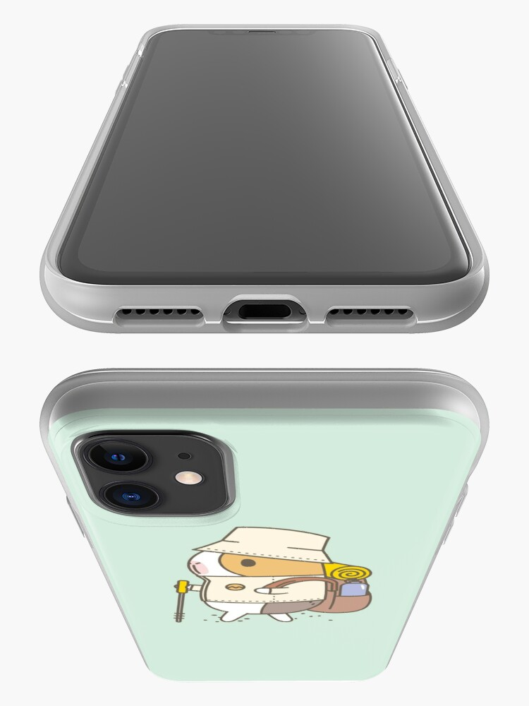 Alternate view of Bubu the Guinea Pig, Hiking iPhone Case & Cover