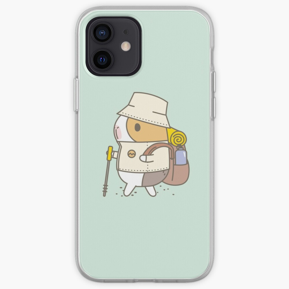 Bubu the Guinea Pig, Hiking iPhone Case & Cover