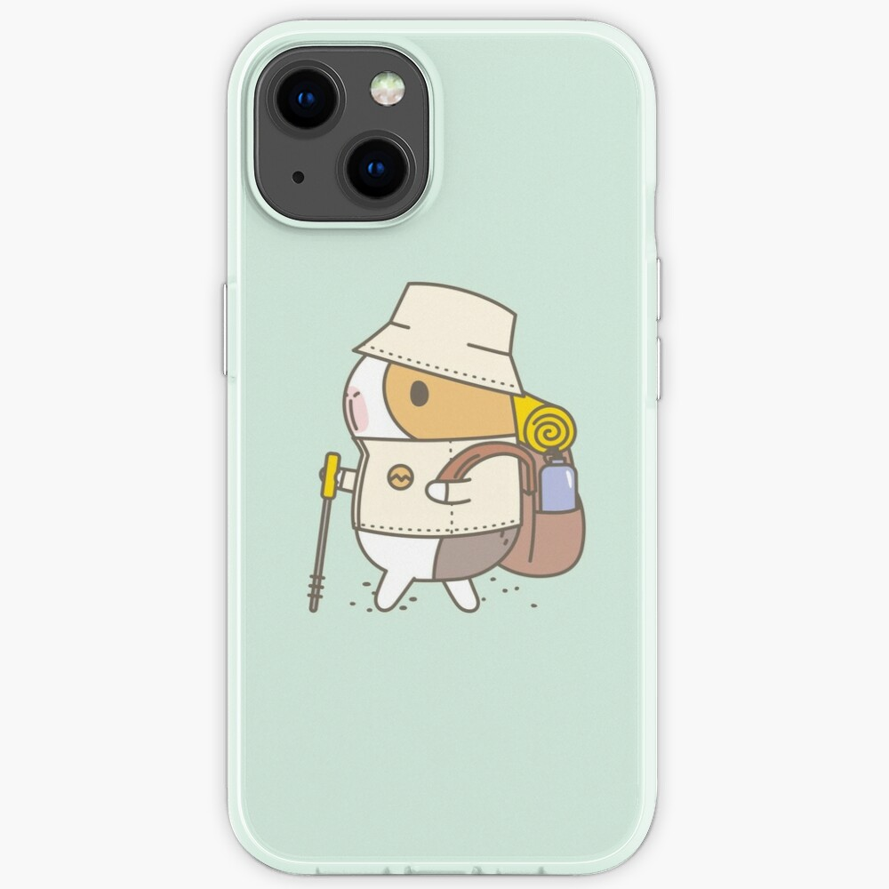 Bubu the Guinea Pig, Hiking iPhone Case