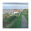 Top path at Staithes by Graham Clark