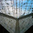 La Louvre sous la Pyramide by Pamela Jayne Smith