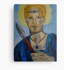 Saint Oswin of Deira Metal Print
