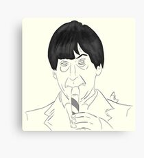 Patrick Troughton, Second Doctor Canvas Print