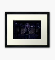 What Wanders The Play parks on Hallowe'en Framed Print
