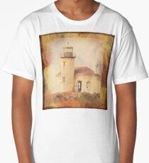 Bandon (Umpqua River) Lighthouse Long T-Shirt