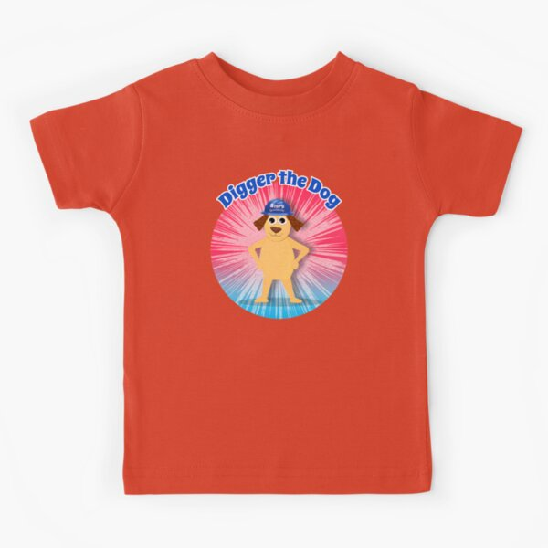 """""""Digger the Dog"""" Story Spectacular Podcast Kids by Storytacular Kids T-Shirt"""