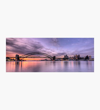 Lavender Blue - Moods Of A City -The HDR Experience Photographic Print