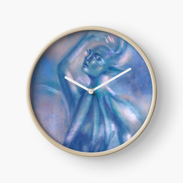 The Blue Dancer Clock