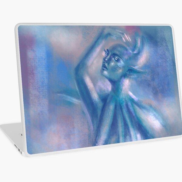 The Blue Dancer Laptop Skin