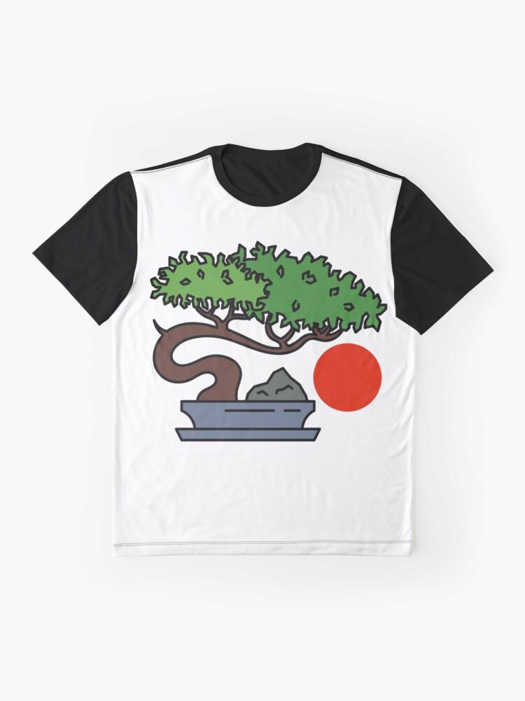 Alternate view of Bonsai Tree - #3 Graphic T-Shirt