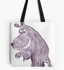 Frightening werwolf Tote Bag