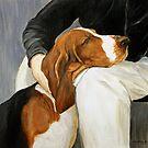 Basset Hound by Charlotte Yealey