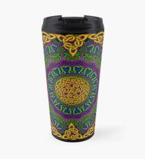 Mandala Knotwork 1 Travel Mug