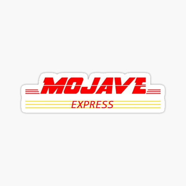 Mojave Express Logo Sticker