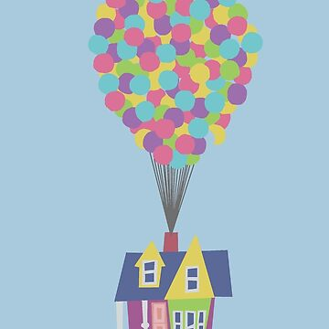Balloon House by Rocket-To-Pluto