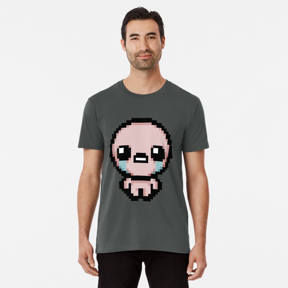 """Isaac (The Binding Of Isaac)"" T-shirt By HuckleberryArts"