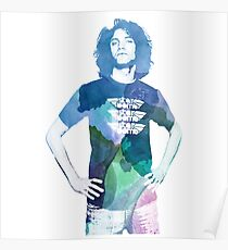 Danny Avidan - Watercolor Poster