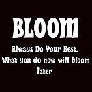 Bloom by cheriverymery