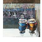 At rest in Crail Harbour by Graham Clark