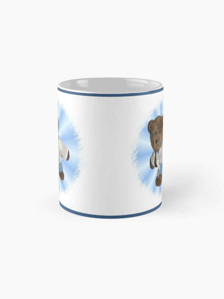 Alternate view of Take Me Along With You ~ Teddy Bear  Mug