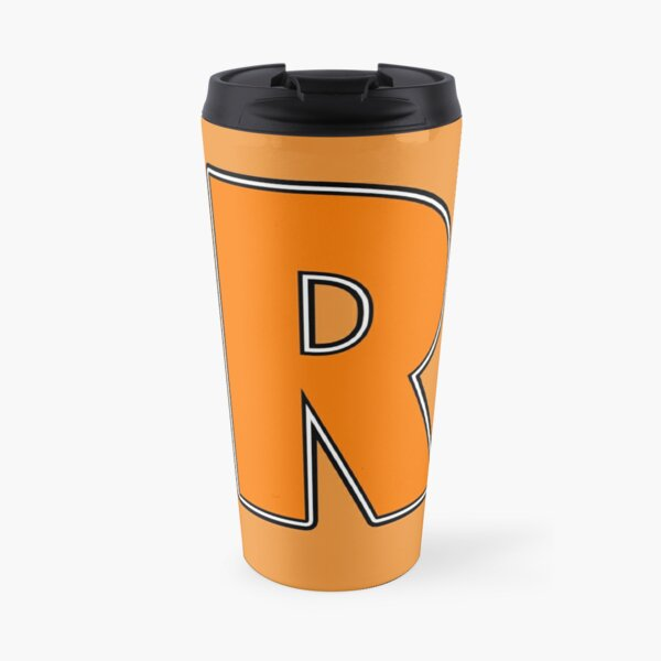 Pride! Letters - R (Orange) Travel Mug