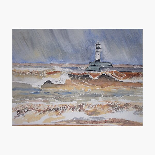 Port in a storm Photographic Print