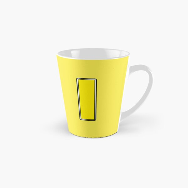 Pride! Letters - I (Yellow) Tall Mug