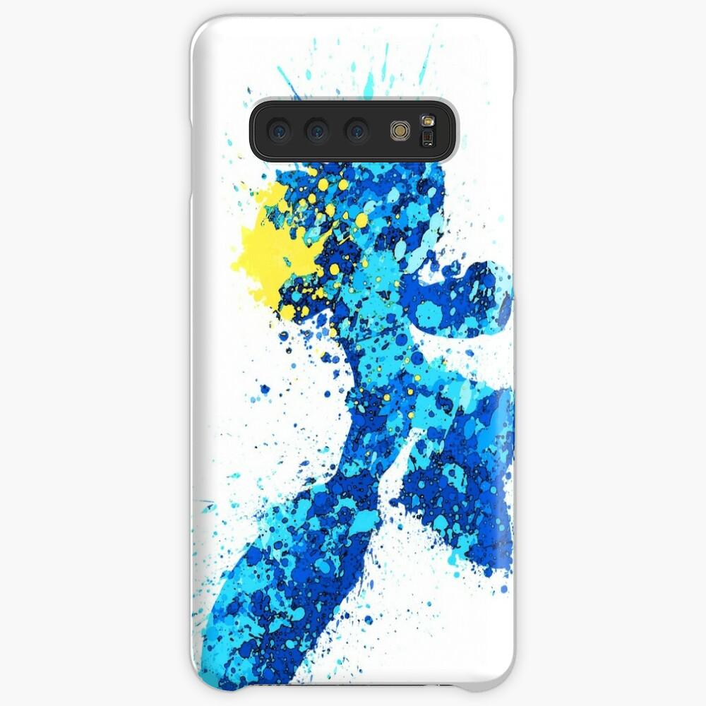 Splatter Mega Man Case & Skin for Samsung Galaxy