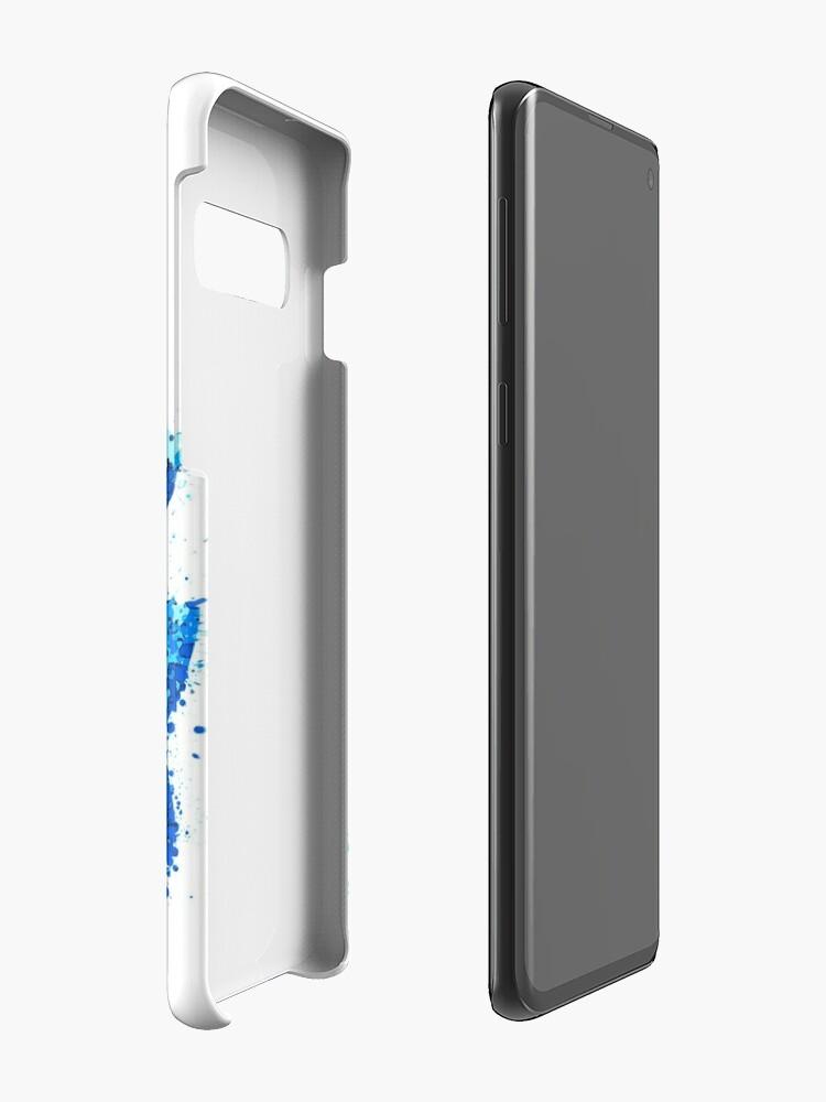 Alternate view of Splatter Mega Man Case & Skin for Samsung Galaxy