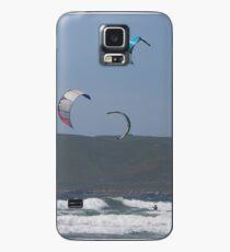 Kitesurfing in the Ocean - Three kites in the distance Case/Skin for Samsung Galaxy