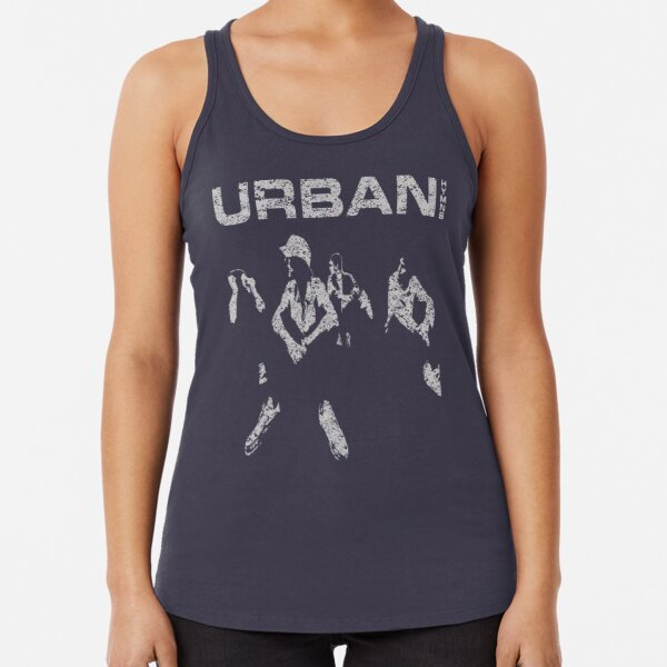 The Verve - Urban Hymns Silhouette Racerback Tank Top