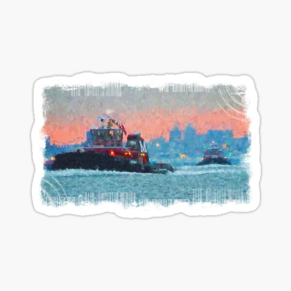 2018 Moran Tug  City Sticker
