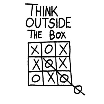 Think Outside The Box Creative by yoddel