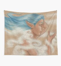 The Wind Goddess Wall Tapestry