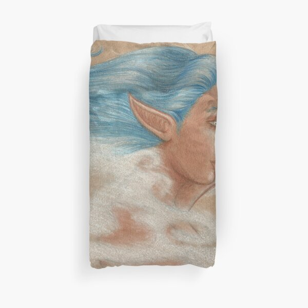 The Wind Goddess Duvet Cover
