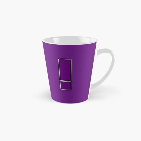 Pride! Letters - ! (Purple) Tall Mug