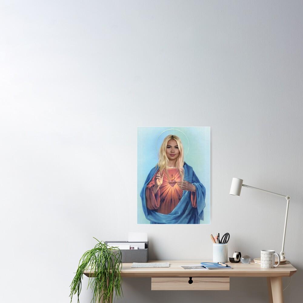 lesbian jesus Poster