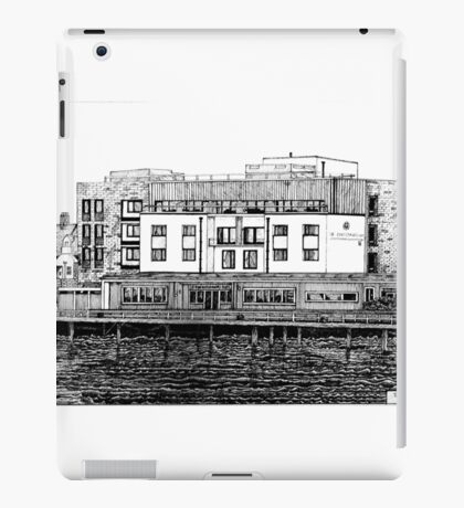 281 - COMMISSIONERS QUAY, BLYTH - DAVE EDWARDS - INK - 2018 iPad Case/Skin