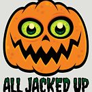 All Jacked Up on Halloween Candy Jack-O'-Lantern by fizzgig